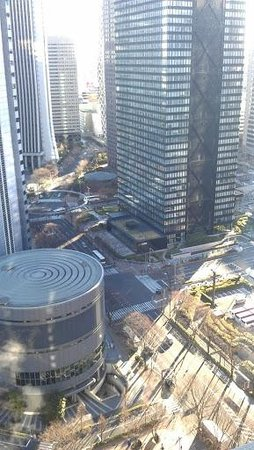 Hilton Tokyo: View from the window