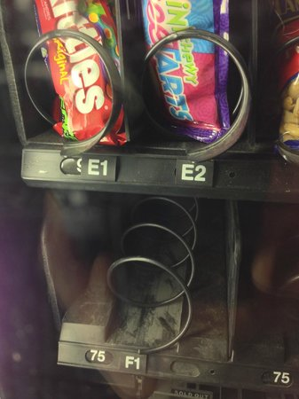 Wildwood Lodge: filthy vending machine