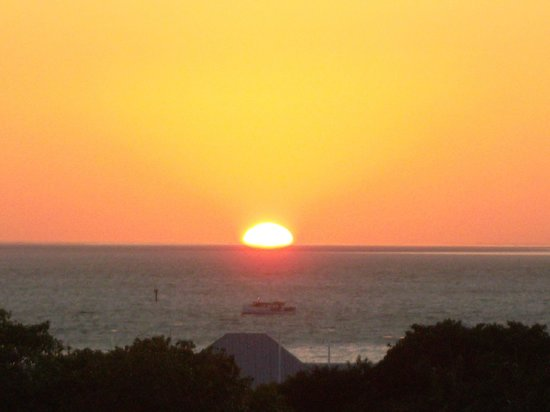 Crowne Plaza Key West La Concha: sunset from Top