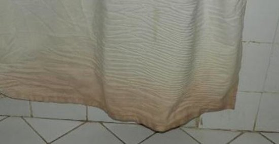 Al Diwan Resort: Shower curtain