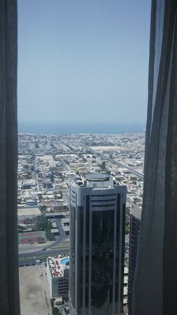 Rose Rayhaan by Rotana - Dubai: view from the 41st floor