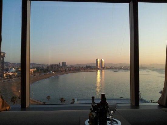W Barcelona: View from Bed