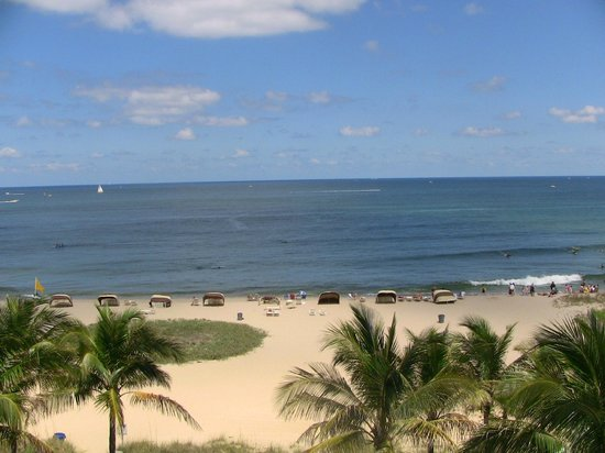 Residence Inn by Marriott Fort Lauderdale Pompano Beach/Oceanfront: View from our room 411