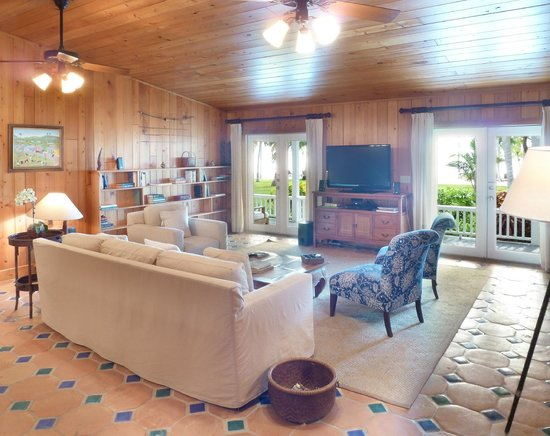The Moorings Village and Spa: Cottage Living Room