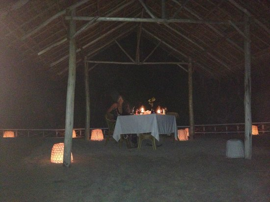 El Nido Resorts Miniloc Island: Private Dinner one little beach around from main resort