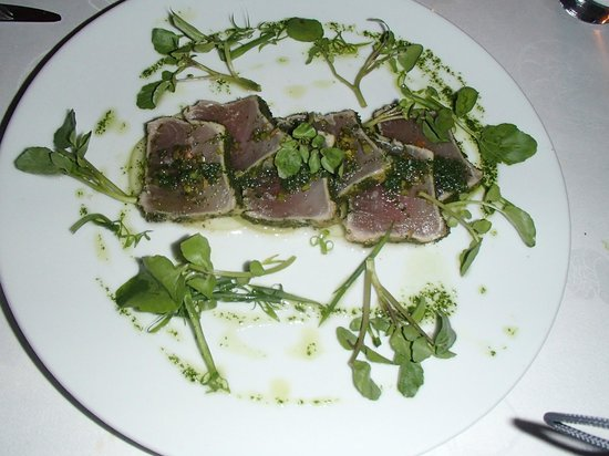 Le Touessrok: An example of the food at Barlans