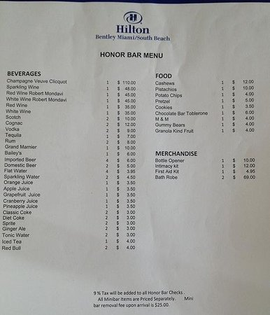 Hilton Bentley Miami/South Beach: EXTREME PRICES