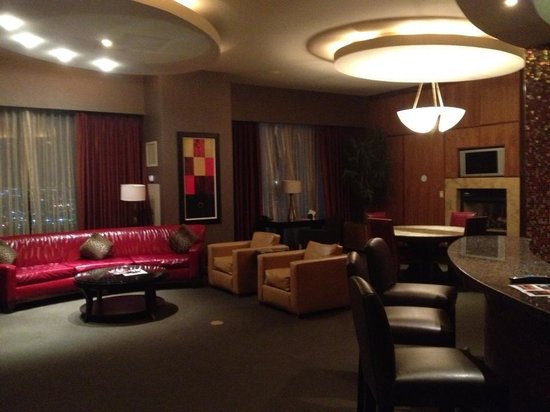 The Palms Casino Hotel: The Suite....