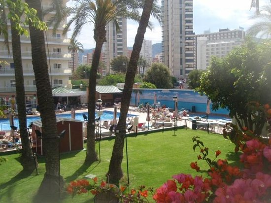 Hotel Helios Benidorm: Pool and grounds