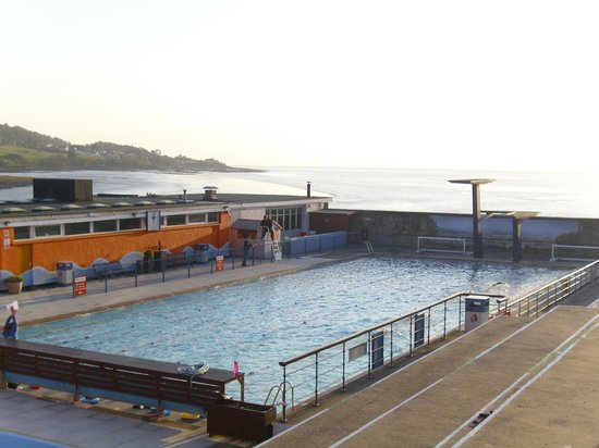 Portishead open air pool england hours address top - Open air swimming pool portishead ...