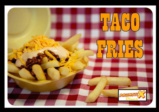 Ballincollig, Ireland: Drumstix Taco Fries