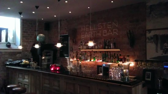 Hellsten Hotel: hotel bar