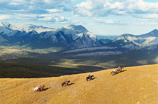 Canadian Rockies, Canada: Horseback Riding in Central Alberta