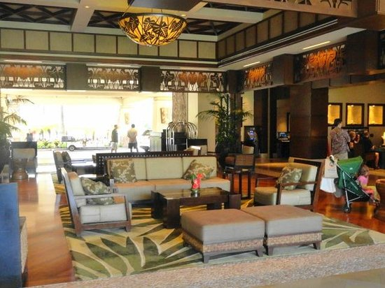 The Westin Kaanapali Ocean Resort Villas: Hotel lobby