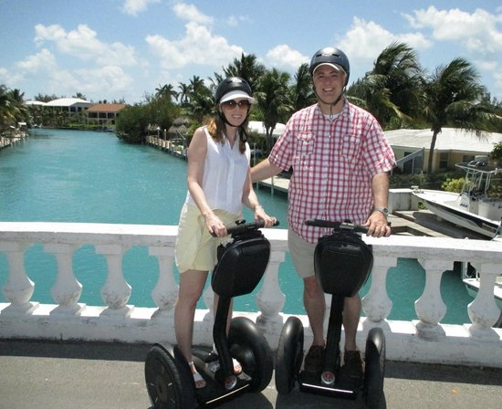 Hawks Cay Resort: Segway tour.