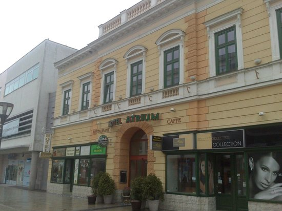 Nitra, Slovacchia: Hotel Atrium 3*