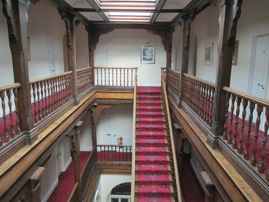 Knighton, UK: Lovely staircase