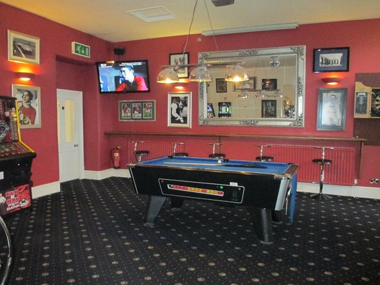 Knighton, UK: Gamesroom