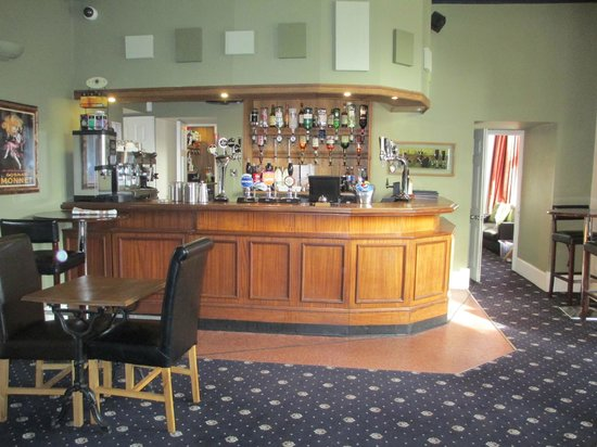Knighton, UK: Hotel Bar