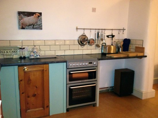 Bodfari, UK: Kitchen