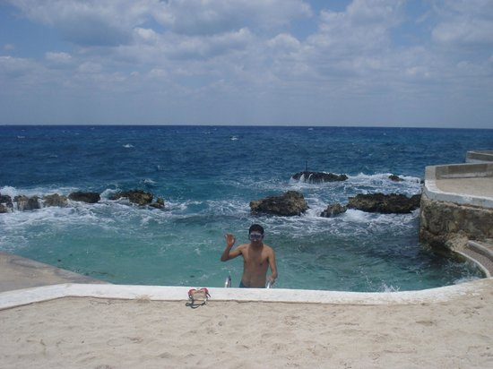 Hotel Cozumel and Resort: playa
