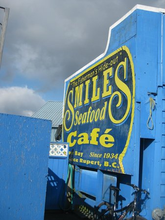 Prince Rupert, Canada: Smiles Cafe