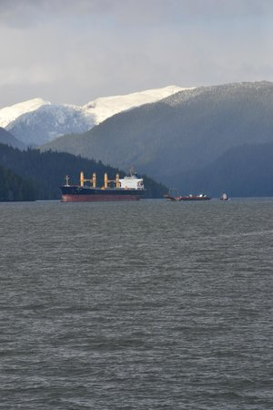 Prince Rupert, Canada: View of the harbour