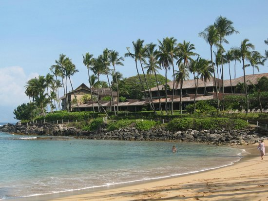 Napili Kai Beach Resort: Beach front