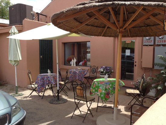 ‪‪Mesilla‬, نيو مكسيكو: Cafe de Mesilla - Outdoor Seating‬