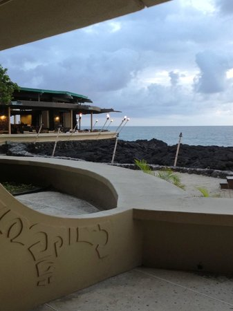 Royal Kona Resort: Ocean View from Lanai