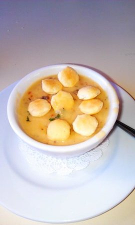 Blaine, : tasty chowder !!