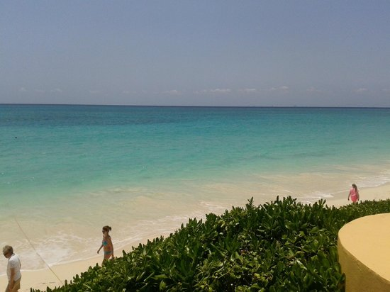 Fairmont Mayakoba: the beach