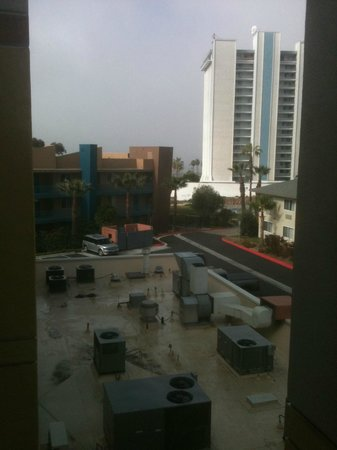 Holiday Inn Oceanside Marina: Actual view from fifth floor