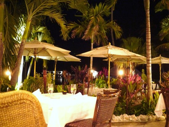 Cheeca Lodge & Spa: Dining at night