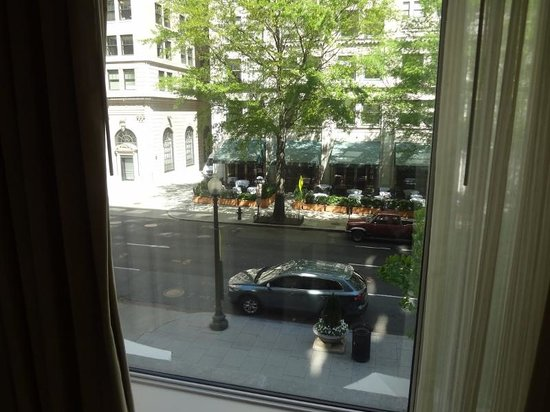 Sofitel Washington DC: Vista de quarto frontal
