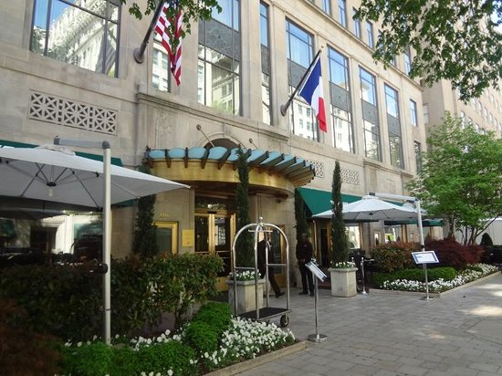 Sofitel Washington DC: Fachada do hotel