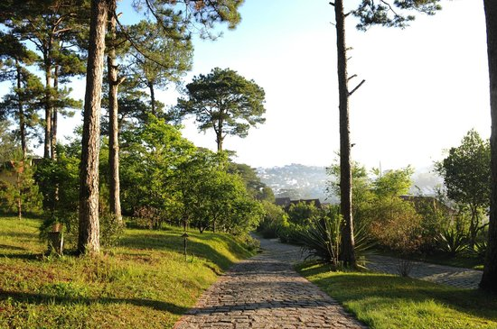 Ana Mandara Villas Dalat Resort & Spa : Walkway