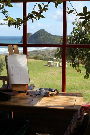 Bethells Beach Cottages-heaven!