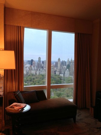 Mandarin Oriental, New York: beautiful view from Central Park View room