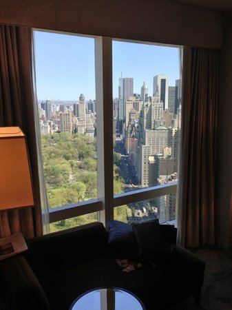 Mandarin Oriental, New York: stunning central park view room