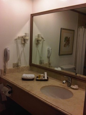Waterfront Insular Hotel Davao: Neat bathroom