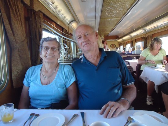 Northern Territory, Australien: Queen Adelaide Dining Car on the Ghan