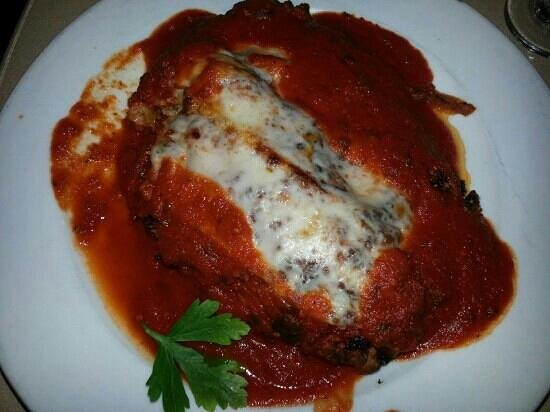 Vista, : eggplant parmesan