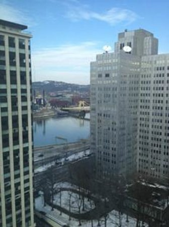 Wyndham Grand Pittsburgh Downtown: The park and three rivers?