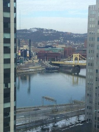 ‪‪Wyndham Grand Pittsburgh Downtown‬: Facing the park‬