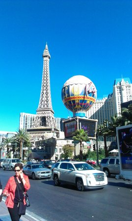 Paris Las Vegas: Paris from the strip.