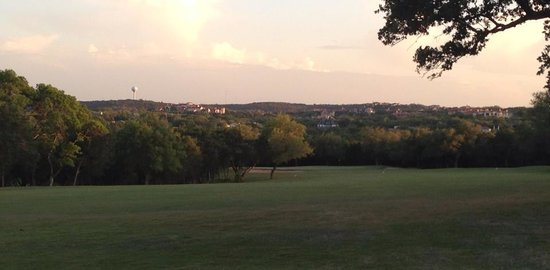 Barton Creek Resort & Spa: I snuck a peak at the neighboring Crenshaw course...my next target.