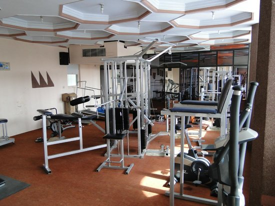 Hotel Amar: Fitnessruimte