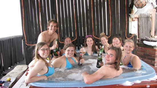 Umkomaas, South Africa: Maties under water club in the jacuzzi