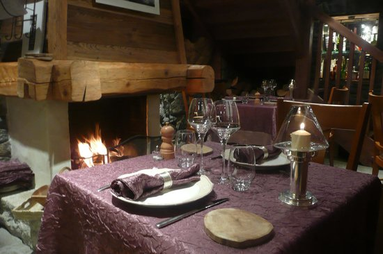 Argentiere, France : ambiance cosy 